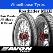 Avon RoadRider MK II H Rated- Pair Deal