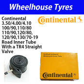 Continental 3.50, 4.00, 4.10, 100/90, 110/80-19 Road Tube