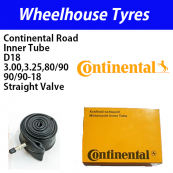 Continental 3.00, 3.25, 90/90-18 Road Tube