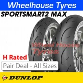 "Dunlop SportSmart 2 MAX ""H Rated"" Pair Deal"