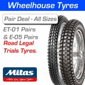 Mitas ET-01 & E-05 Trials Tyres - Pair Deal