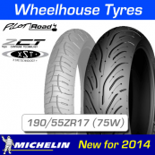 190/55ZR17 (75W) Pilot Road 4 Michelin T/L