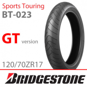 120/70ZR17 Bridgestone BT-023F (58W) (GT)
