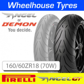 160/60ZR18 (70W) Pirelli Angel GT TL