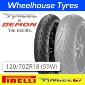 120/70ZR18 (59W) Pirelli Angel GT TL