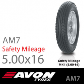 5.00-16 Avon AM7 Safety Mileage MkII 69S TT