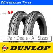 Dunlop TT100 GP - Pair Deals