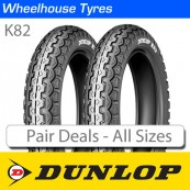 Dunlop K82 - Motorcycle Tyre Pair Deal