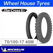 70/100-17 40M MS3 Starcross Front Michelin