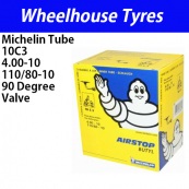 Michelin Tube 10C3 - 4.00-10 Split Rim 90 Deg Valve