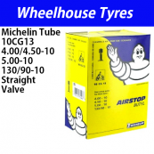 Michelin Tube 10CG13 - 4.00/5.00-10 Split Rim Car Valve Offset