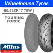 190/55ZR17 (75W) Touring Force Mitas TL