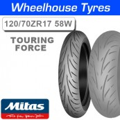 120/70ZR17 (58W) Touring Force Mitas TL Front