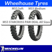 Michelin MS5 Starcross Motorcycle Tyre Pair Deal