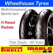 Pirelli Diablo Rosso 2 H Rated - Pair Deal