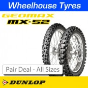 Dunlop Geomax MX52 Pair Deal