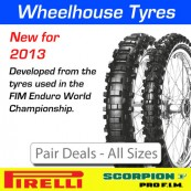 Pirelli Scorpion Pro F.I.M Enduro Tyres - Pair Deal