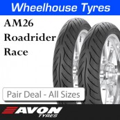 Avon AM26 Roadrider Race - Pair Deal