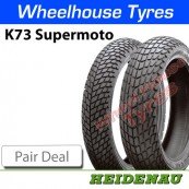 Heidenau K73 Supermoto Pair Deal