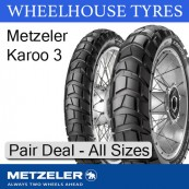 Metzeler Karoo 3 Pair Deal - All Sizes