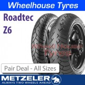 Metzeler Roadtec Z6 Pair Deal - All Sizes