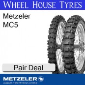 Metzeler MC5 Pair Deal - All Sizes