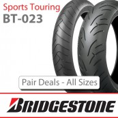 Bridgestone BT-023 Sports Touring tyre - Pair Deals