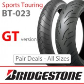 Bridgestone BT-023 Sports Touring tyre - Pair Deals (GT Type)