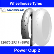 120/70ZR17 (58W) Power Cup 2 Michelin TL