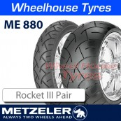 Metzeler ME880 Pair Deal - Triumph Rocket 3