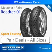 Metzeler Roadtec 01 Pair Deals - All Sizes