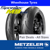 Metzeler Sportec M9 RR Pair Deal - All Sizes