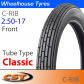 2.50-17 Cheng Shin Classic Ribbed Front TT